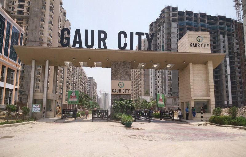 Gaur City Flats are in the form of Ready-To-Move Homes